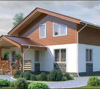 Проект дома С-5 9х13 (155 м.кв.)